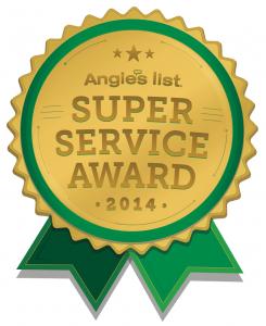 Super Service Award - Angie's List